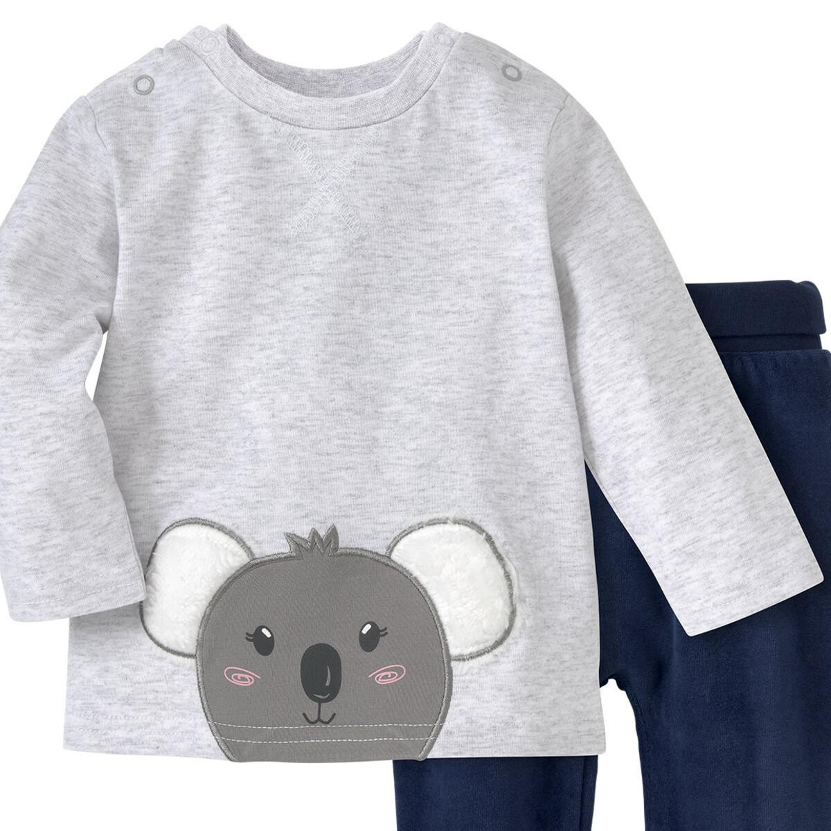 Bild 2 von Newborn Langarmshirt und Hose im Set