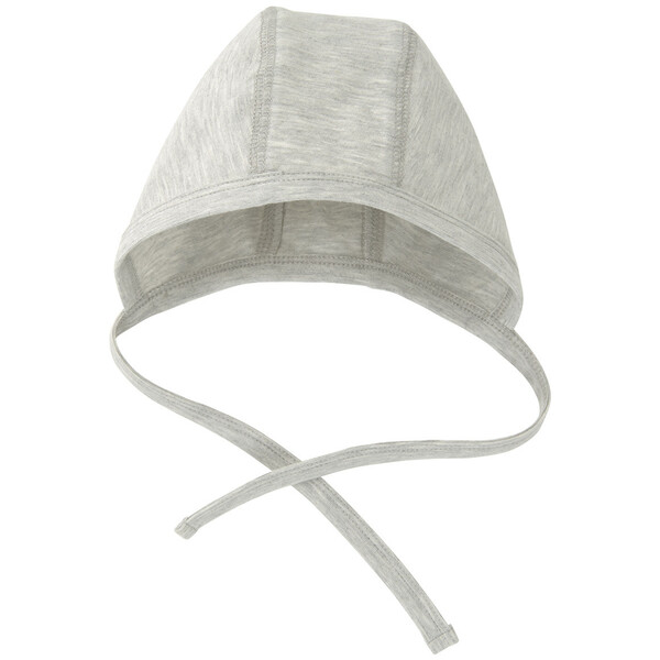 Newborn Mütze mit Bindebändern