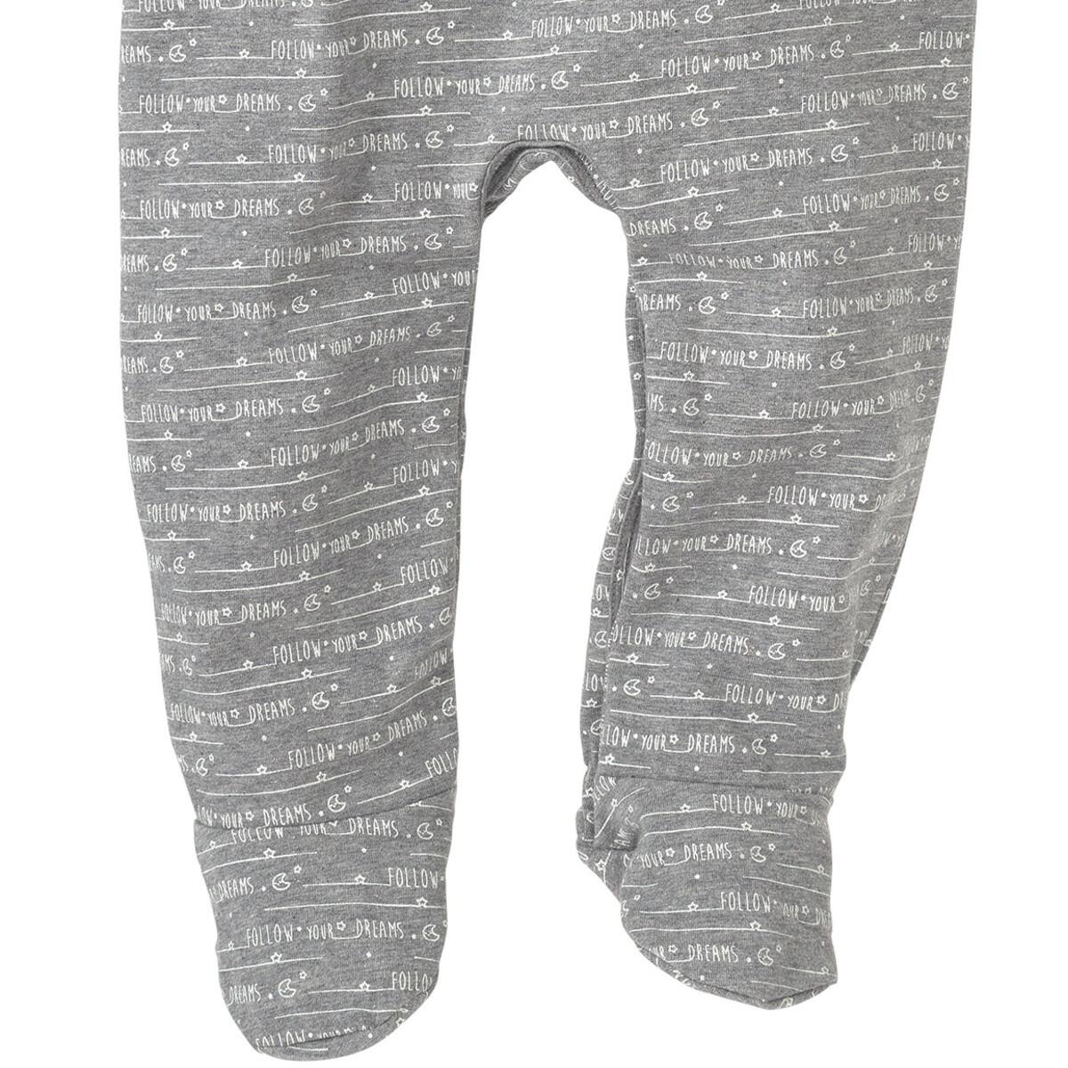 Bild 4 von Newborn Schlafanzug mit Schriftzügen