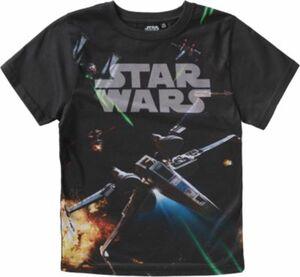 Star Wars T-Shirt schwarz Gr. 104/110 Jungen Kleinkinder