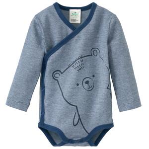 Newborn Wickelbody mit Bär-Motiv