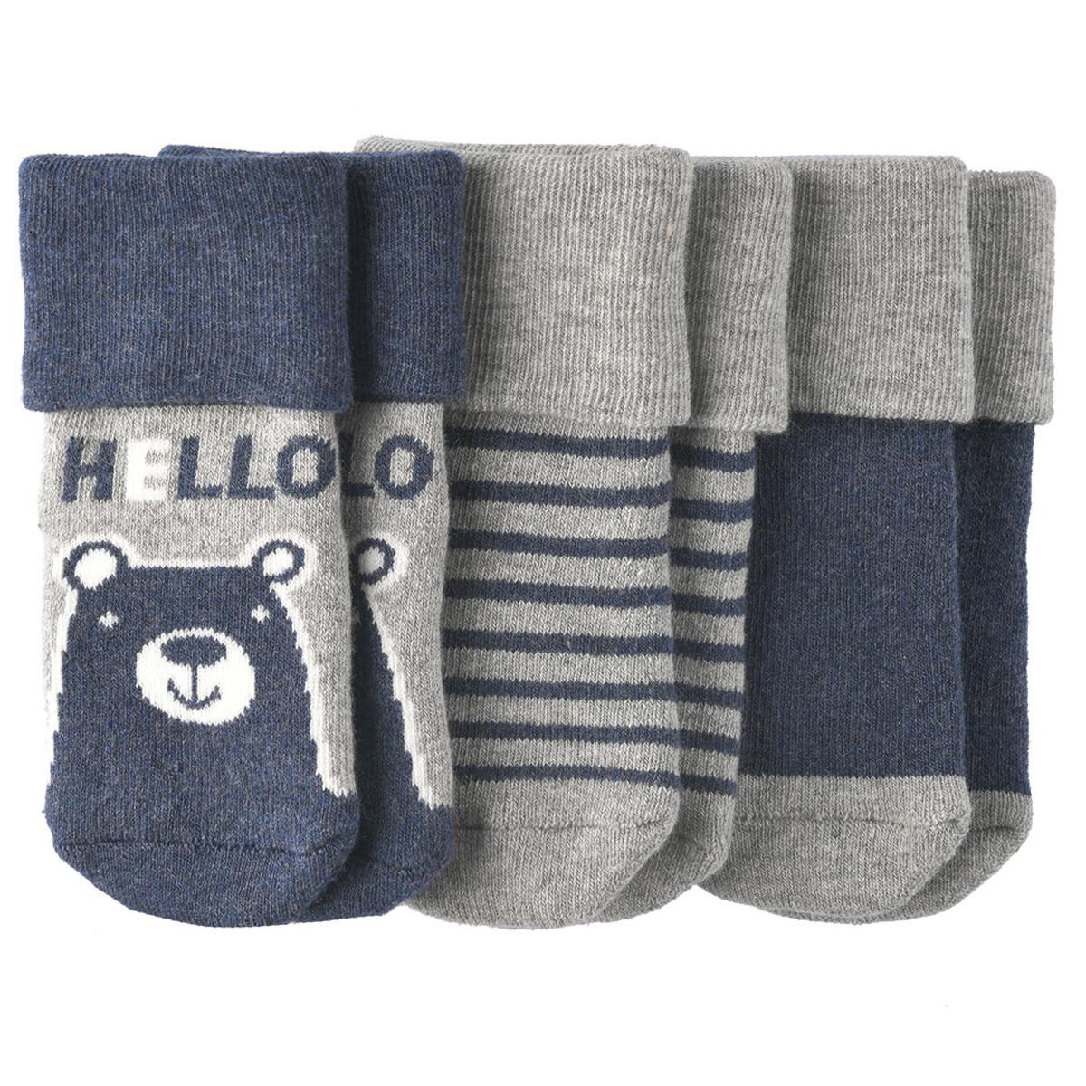 Bild 1 von 3 Paar Newborn Socken im Set