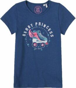 T-Shirt blau Gr. 104 Mädchen Kleinkinder