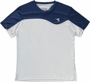 Tennis T-Shirt blau Gr. 128 Jungen Kinder