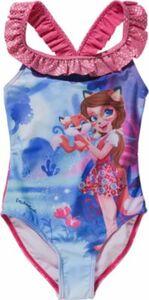 Enchantimals Kinder Badeanzug pink Gr. 110/116 Mädchen Kinder