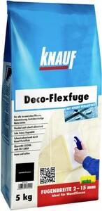 Knauf Deco-Flexfuge ,  samtschwarz, 5 kg