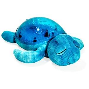 Cloud B - Tranquil Turtle: Nachtlicht- und Beruhigungsfigur Schildkröte, blau