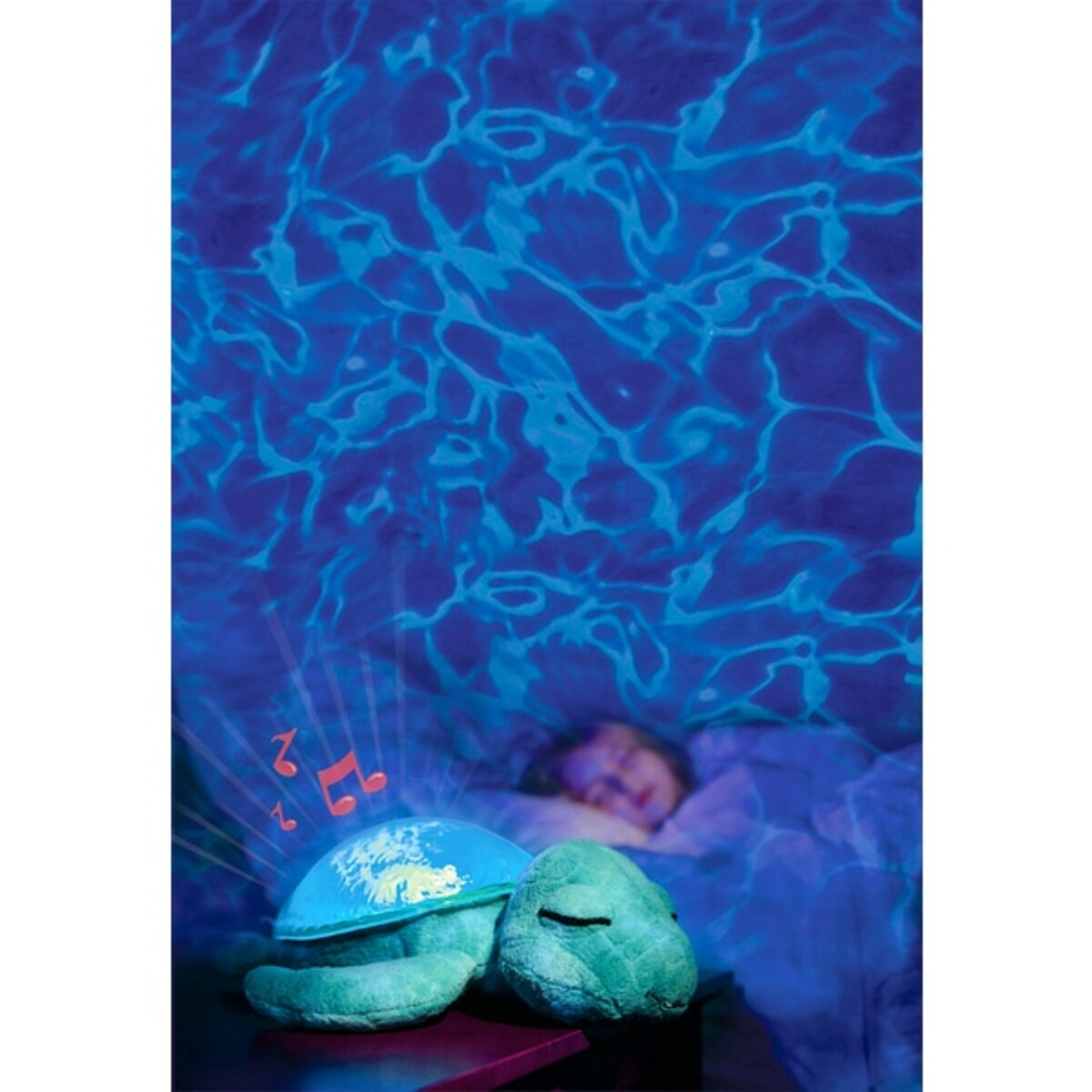 Bild 4 von Cloud B - Tranquil Turtle: Nachtlicht- und Beruhigungsfigur Schildkröte, blau