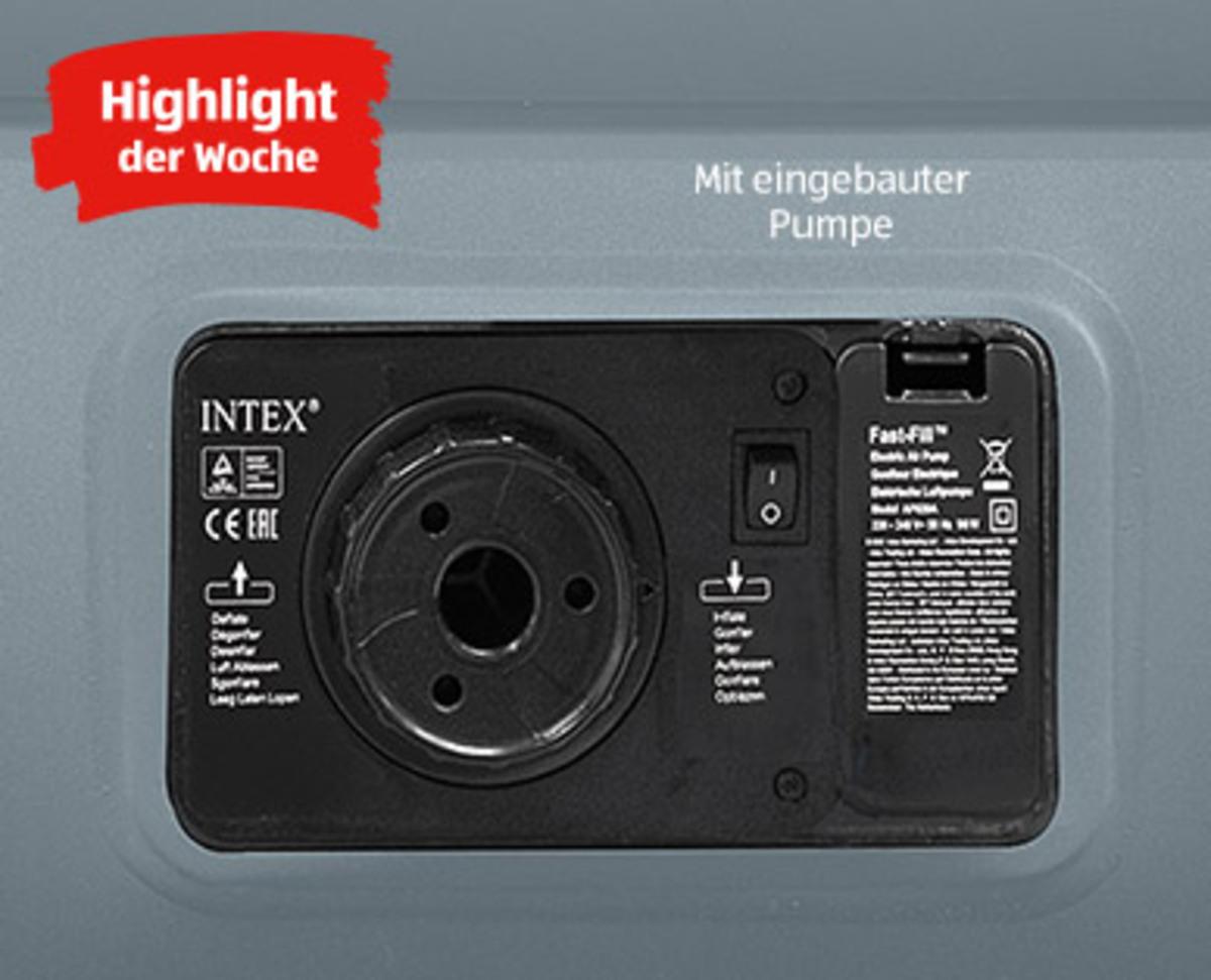 Bild 3 von INTEX®  Luftbett mit eingebauter Pumpe