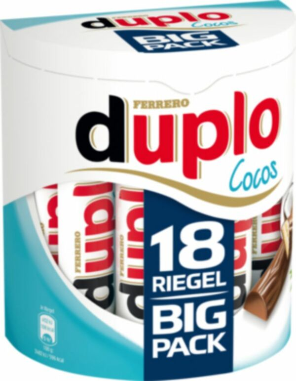 Ferrero Duplo Cocos 18 St 327,6 g