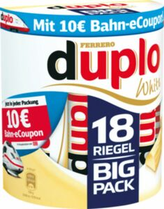 Ferrero duplo White 18er 327,6 g