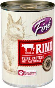 Finé Feine Pastete Reich an Rind mit Pastinake 400g