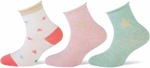 Kinder Socken 3er Pack Gr. 27-30 stars
