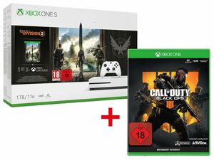 Microsoft Xbox One S 1TB Tom Clancy's: The Division 2 Bundle + CALL OF DUTY: BLACK OPS 4 Xbox