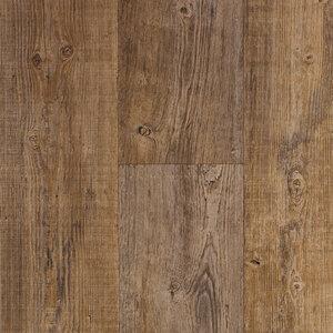 PVC Bodenbelag - Parkett Planke - dunkel - 4 Meter