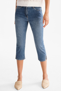 The Denim         THE CAPRI JEANS CLASSIC FIT - Glanz Effekt