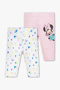 Minnie Maus - Baby-Capri-Leggings - 2er Pack