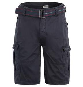 "BRUNOTTI             Cargo-Shorts ""Caldo"", Regular Fit, unifarben, Gürtel"