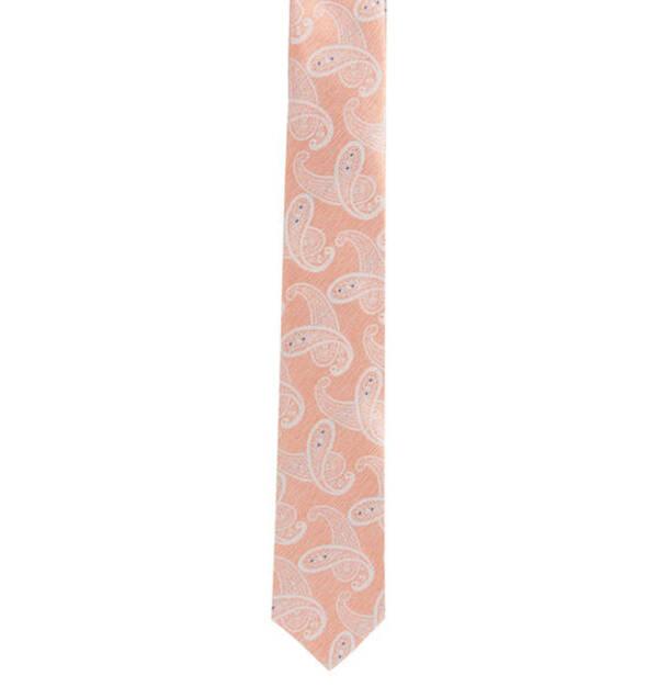 Prince BOWTIE             Krawatte, Paisley-Print, dezente Streifen, Seide