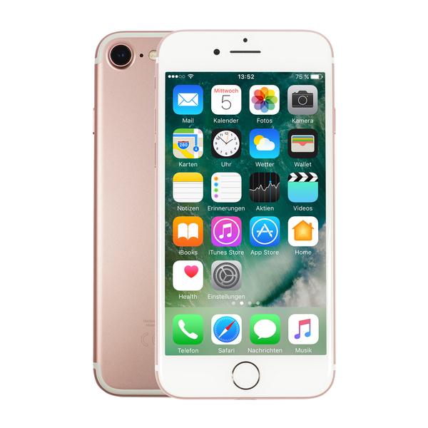 "Apple iPhone 7 32GB Roségold [11,94cm (4,7"") Retina HD Display, iOS 10, A10, 12MP, Wasserdicht]"