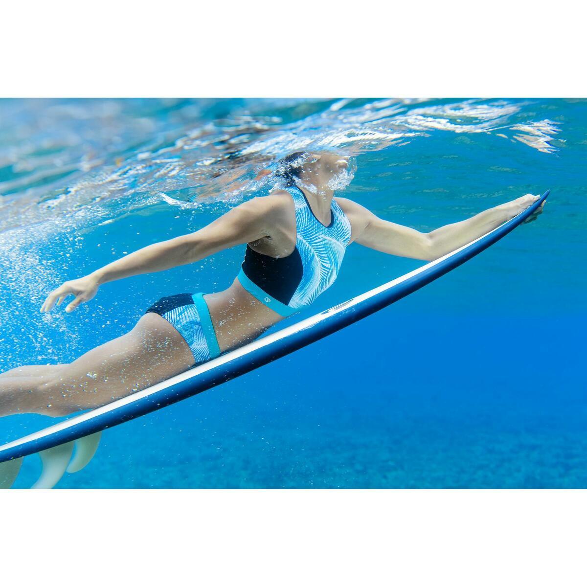 Bild 2 von Bikini-Oberteil Bustier Carla Bondi mit Back Zip Surfen Damen