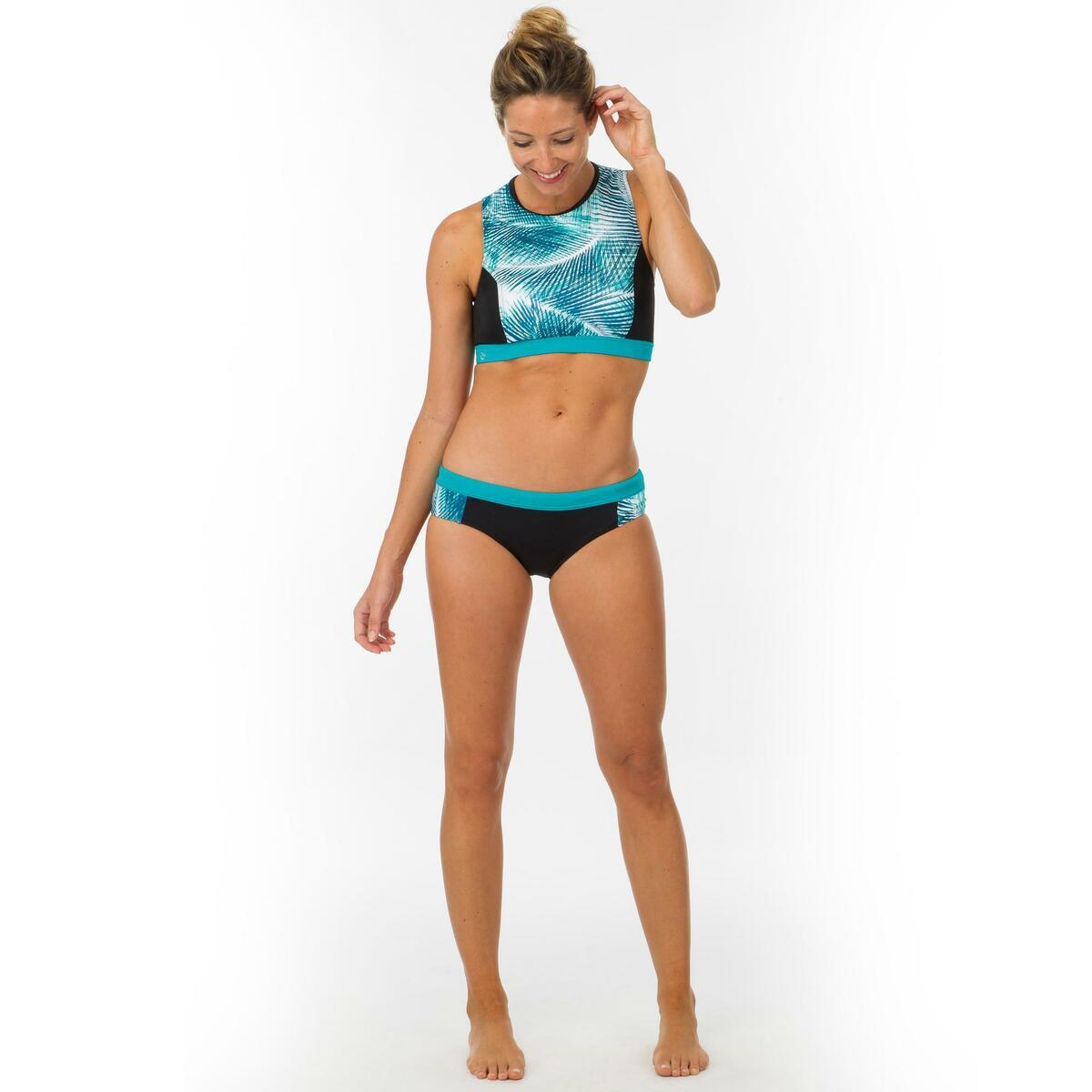 Bild 3 von Bikini-Oberteil Bustier Carla Bondi mit Back Zip Surfen Damen