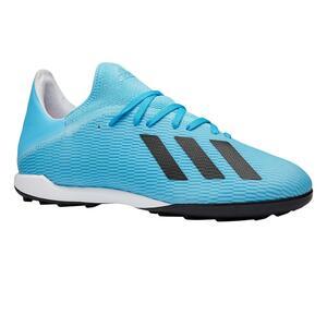 Fußballschuhe X 19.3 HG Erwachsene blau