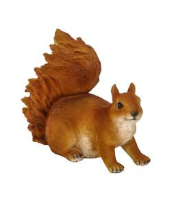 Dehner Polyresin-Eichhörnchen, 20 x 10 x 18,5 cm