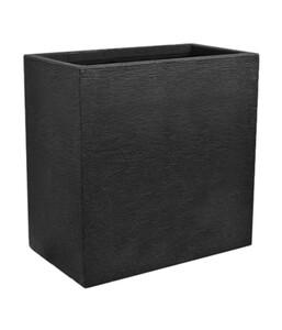 Kunststoff-Pflanzkasten Kubus, 60 x 26 x 60 cm, anthrazit