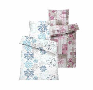 Home Baumwoll-Bettwäsche mit Blumendesign