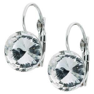 Damen Ohrringe mit großem Stein