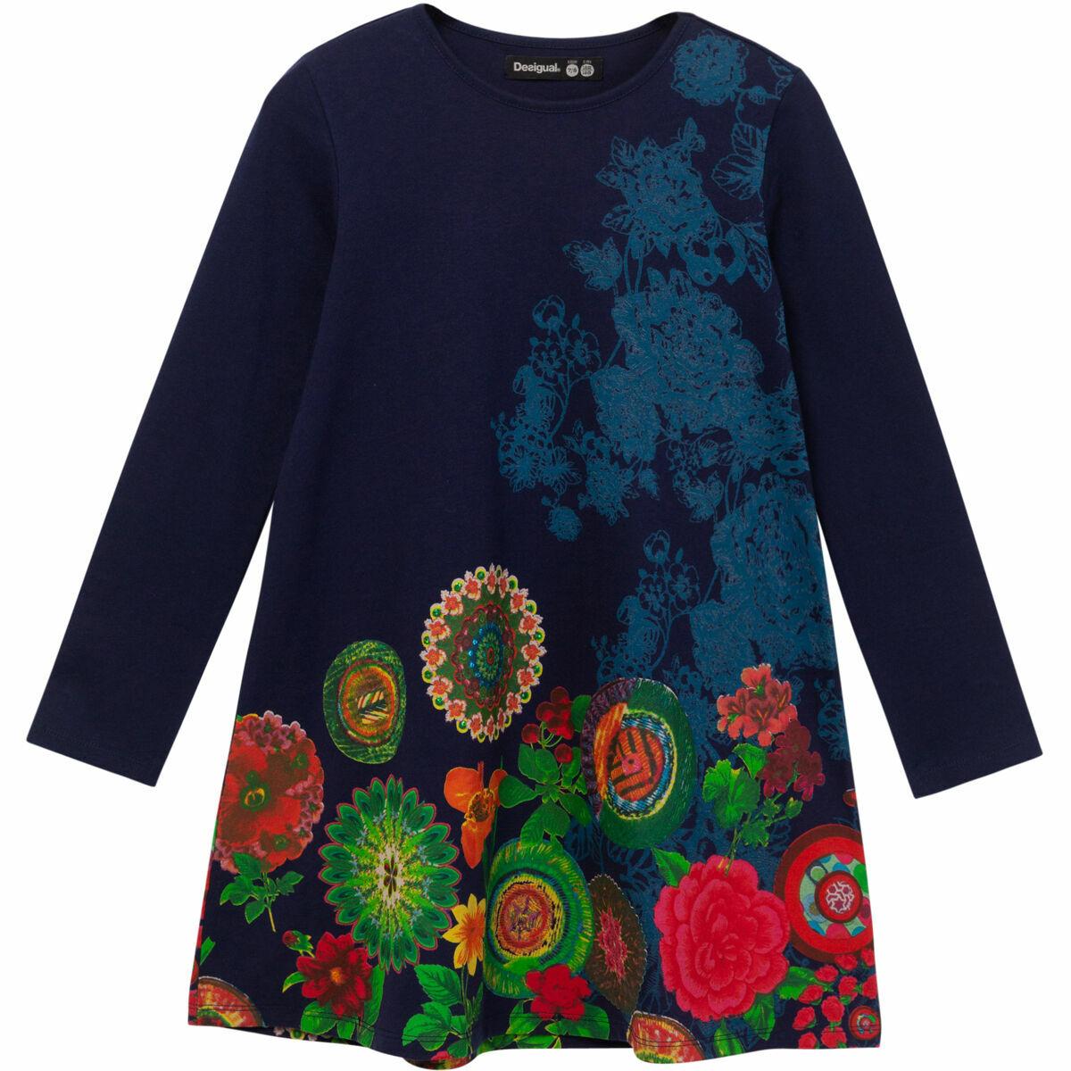 Bild 1 von Desigual Kleid, floral, Mustermix, für Mädchen