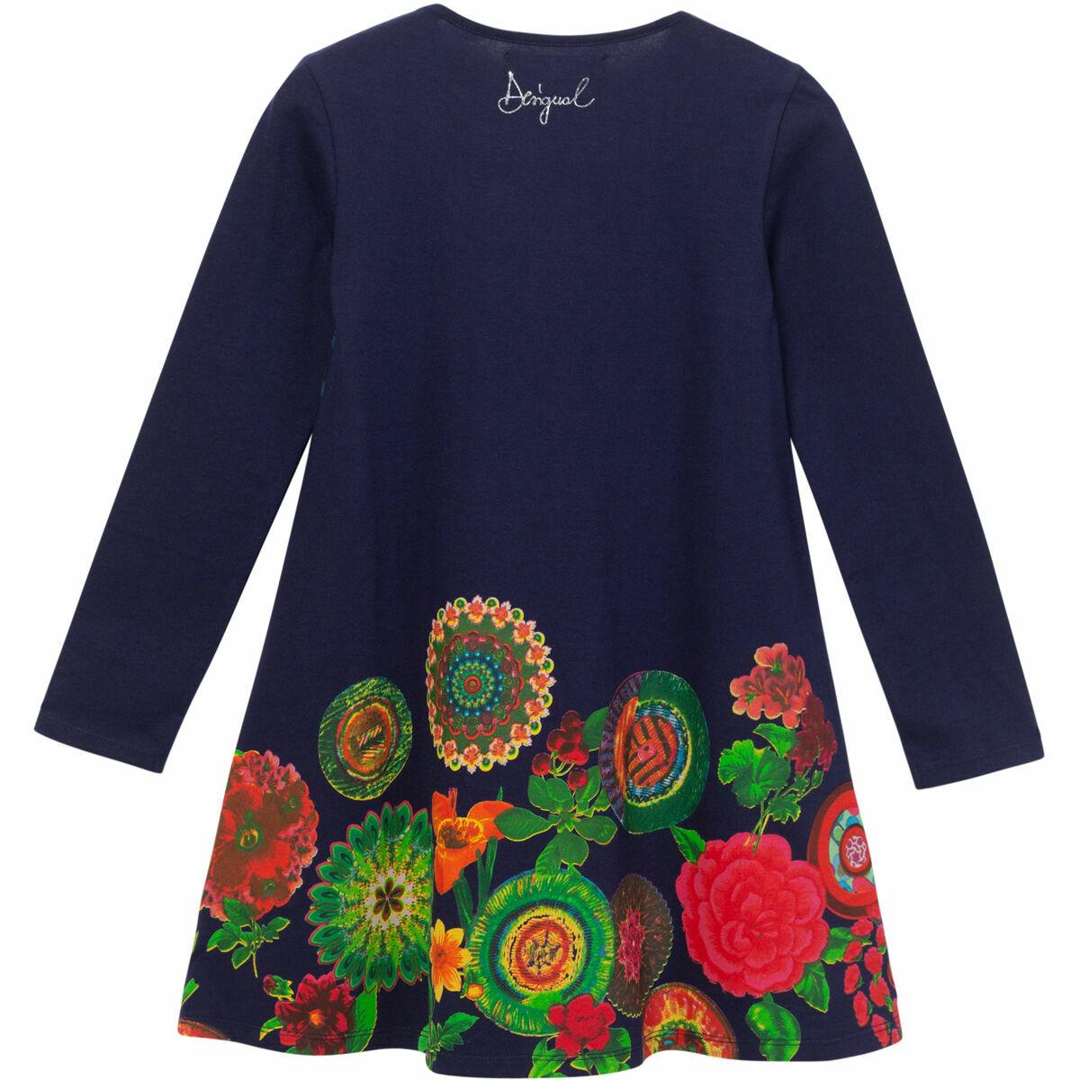Bild 2 von Desigual Kleid, floral, Mustermix, für Mädchen