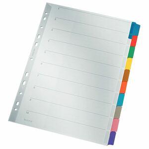 Leitz 4321 Kartonregister Blanko A4 22,5  x  29,7 cm - 10 Blatt