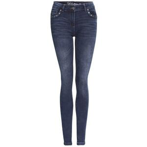 Damen Slim-Jeans mit Applikationen