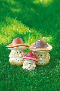 Garden Dream Deko-Pilz mit Gesicht
