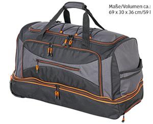 Sport- und Reisetasche auf Rollen