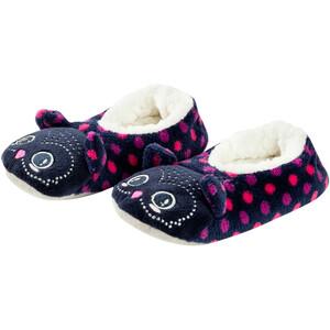 Mädchen Pantoffeln im Eulen-Design