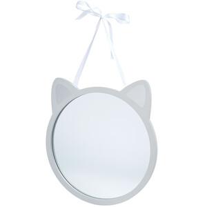 Spiegel mit Katzenohren