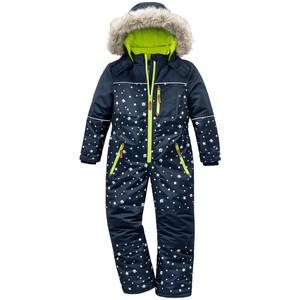 Jungen Schneeoverall mit Sternen allover