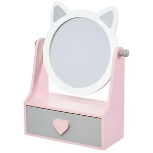 Schmuckbox mit Spiegel und Schublade