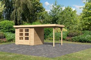 Woodfeeling Gartenhaus Ekenis 3 naturbelassen
