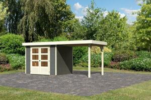 Woodfeeling Gartenhaus Ekenis 3 terragrau
