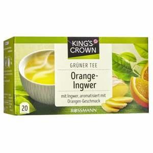 King´s Crown Grüner Tee Orange-Ingwer 2.83 EUR/100 g