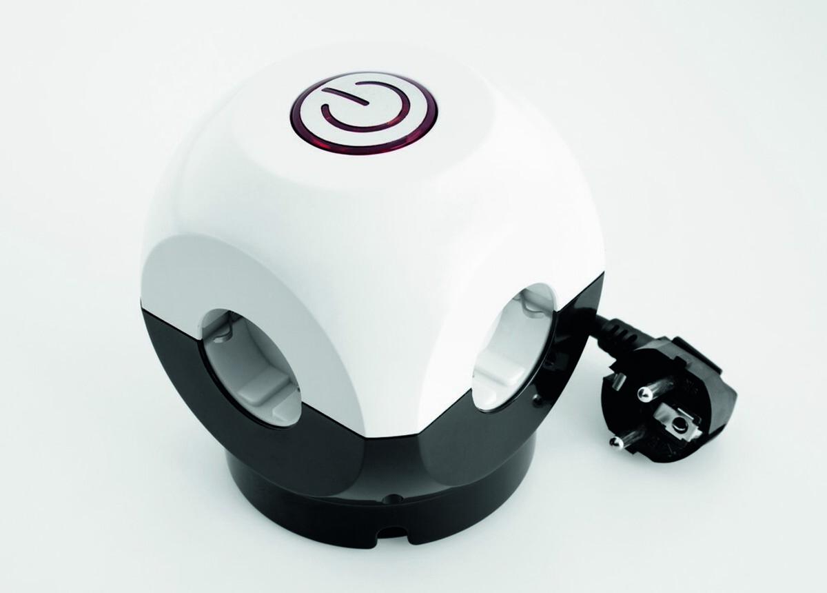 Bild 1 von Powertec Electric Clevere 4-fach Steckdose Würfel mit Schalter