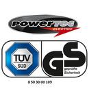 Bild 2 von Powertec Electric Clevere 3-fach Steckdose mit Kabelbefestigungseinrichtung schwarz/weiß