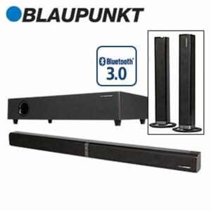 2.1-Bluetooth®-Soundbar LS 2400 mit Funk-Subwoofer • 110 Watt RMS • optischer Audio-Eingang, Aux-Anschluss • Maße Soundbar: H 6 x B 80 x T 6 cm • Maße Subwoofer: H 9,5 x B 46,5 x T 25,5 cm