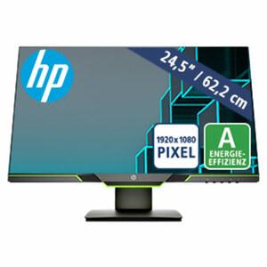144 Hz Gaming-Display mit AMD FreeSync™ · Micro-Edge-Display (Full-HD) · Standfuß mit Höhenverstellung · Licht mit niedrigem Blauanteil · DisplayPort 1.2, HDMI 2.0 · Energieeffizienzklasse A