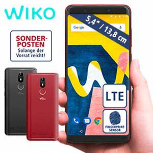 Smartphone View lite · Kamera (13 MP/16 MP) · 2-GB-RAM, 16-GB-interner Speicher · Hybrid-Slot für eine zweite nanoSIM oder eine microSD™-Karte bis 128-GB · Android™ 8.1