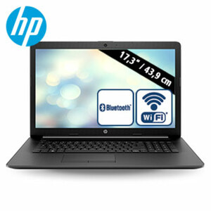 Notebook 17-ca0563ng · blendfreies HD+ Display · AMD A4-9125 Dual-Core (bis zu 2,6 GHz) · AMD Radeon™ R3-Grafikkarte · USB 3.1, USB 2.0, HDMI · DVD-Writer